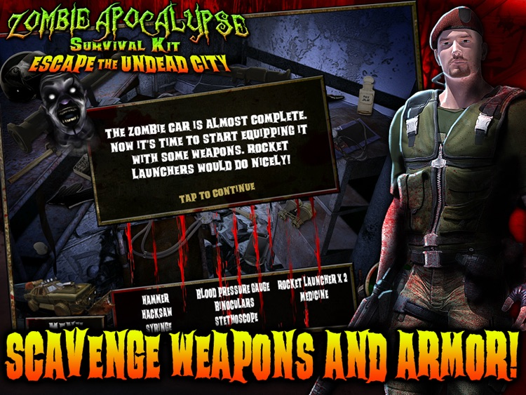 Zombie Apocalypse Survival Kit: Escape the Undead City HD