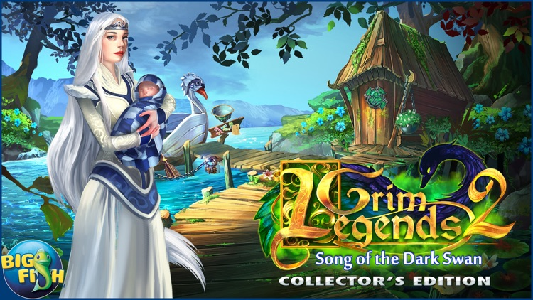 Grim Legends 2: Song of the Dark Swan - A Magical Hidden Object Game screenshot-4