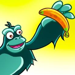 Verrückten Affen Schlacht - Valentins-Ausgabe Pure Love - Rennen in den Dschungel um Bananen zu Sammeln