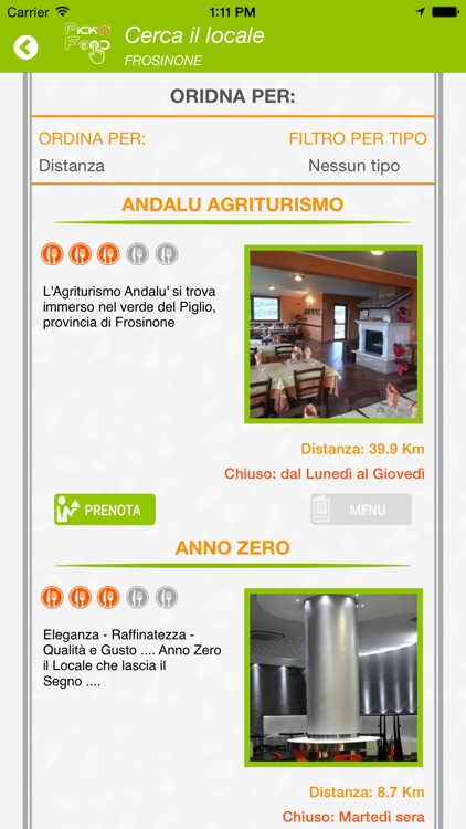 Pick'n'food app image