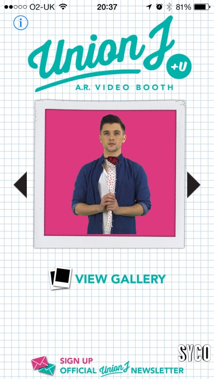 Union J +U AR Video Booth screenshot-3