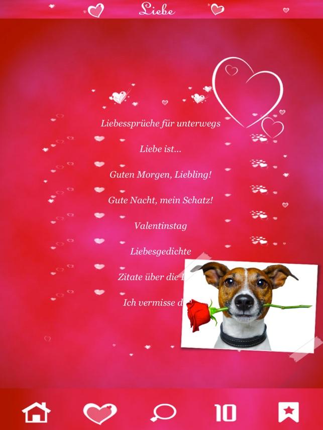 Liebe Sprüche Zitate Und Liebesgrüße Im App Store