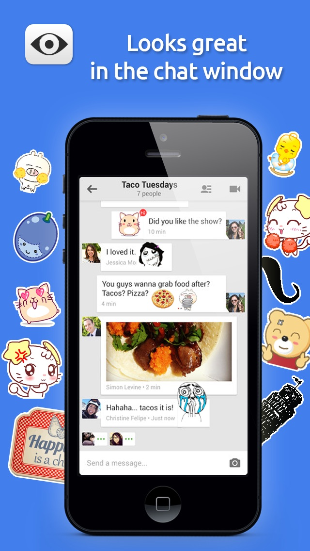 download Stickers for Hangouts Pro Edition apps 2