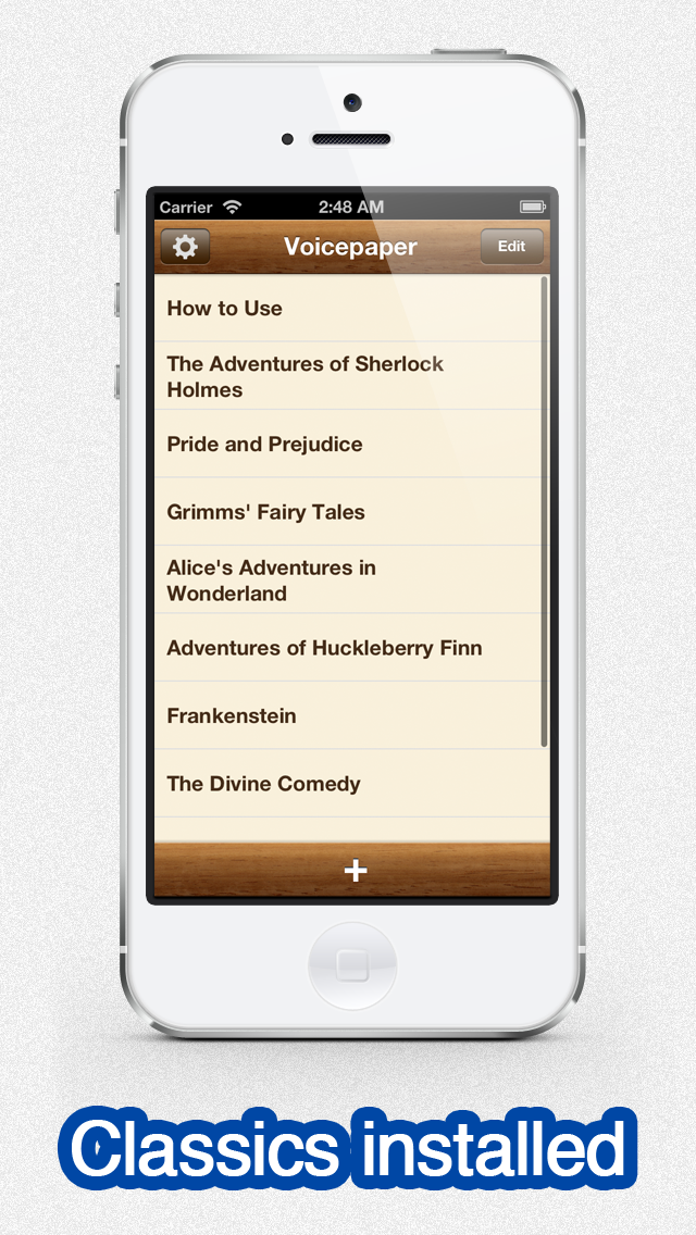Voicepaper - The Text To Speech Voice Reader For Dropbox and Evernote screenshot four