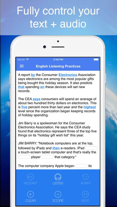 English Listening Practices - Smart tool to improve your listening skillのおすすめ画像2