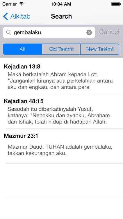 Alkitab screenshot-3