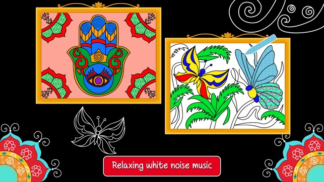 Balance Art Class Coloring Book For Teens And Kids With Relaxing Sounds On The App Store