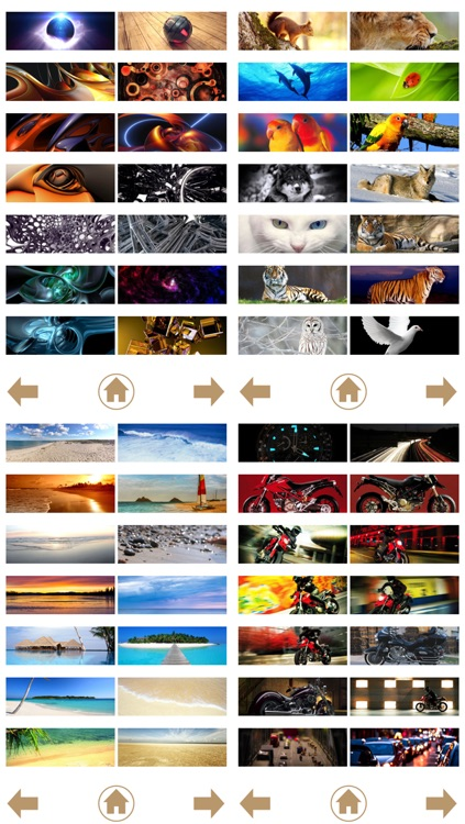Wallpaper+ for iOS 7 (Panorama 3200x1136 pixels) screenshot-4