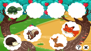 A Free Train Your Brain Educational Interactive Learning Game For Kids – Remember Me, Fox and Bambi screenshot two
