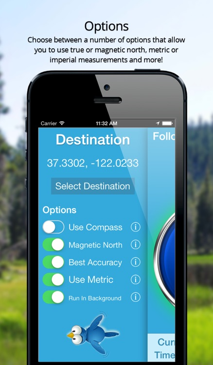 Crow Compass - As the Crow Flies GPS Navigation! screenshot-4