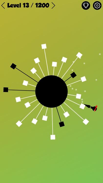 Ninja Hero - Circle Madness - Mobile Edition