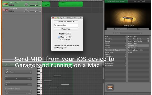 Apollo MIDI over Bluetooth on the Mac App Store