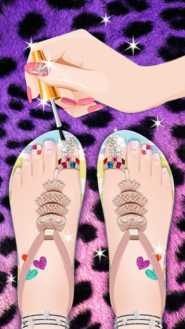 Nail Salon - Girls Gamesのおすすめ画像4