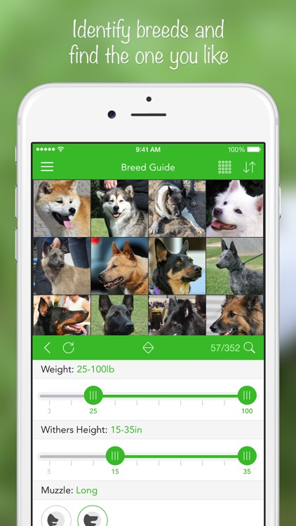 iKnow Dogs 2 PRO - NATURE MOBILE - Dog Breed Guide and Quiz Game