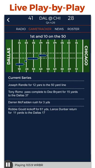 Chicago Football Radio & Live Scores screenshot two