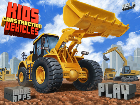 Kids Vehicles: Construction HD for iPadのおすすめ画像5