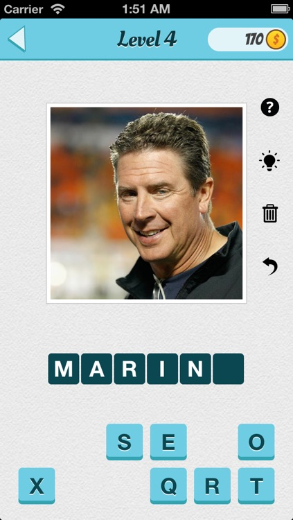 Wubu Guess the Footballer - American Football - FREE Quiz Game screenshot-3