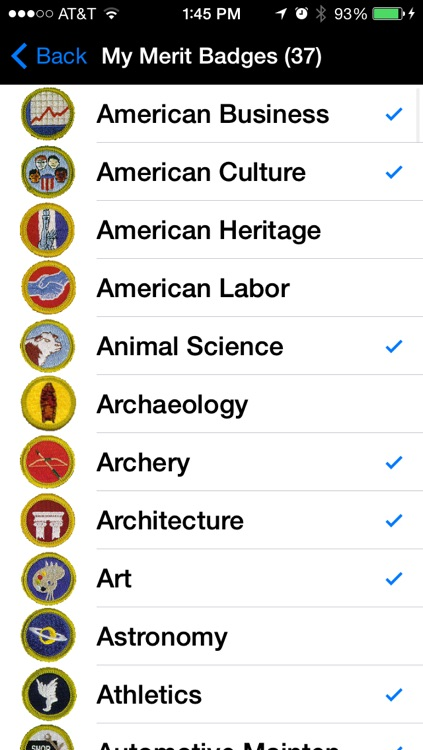 Merit Badges - Quick Reference for every Boy, Leader and Parent screenshot-3
