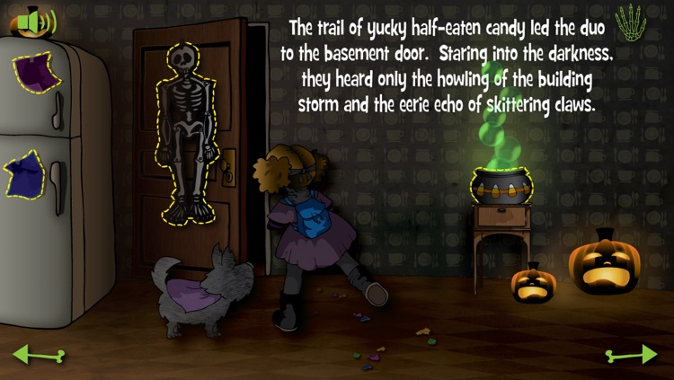 Violet and the Candy Thief - Interactive Halloween Storybook screenshot-4