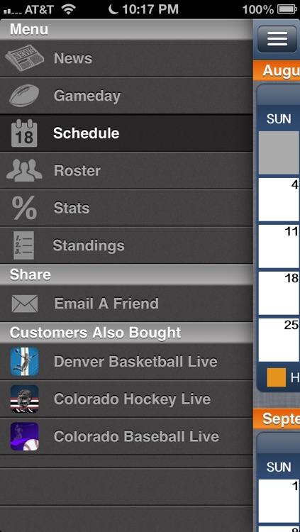 Denver Football Live screenshot-3