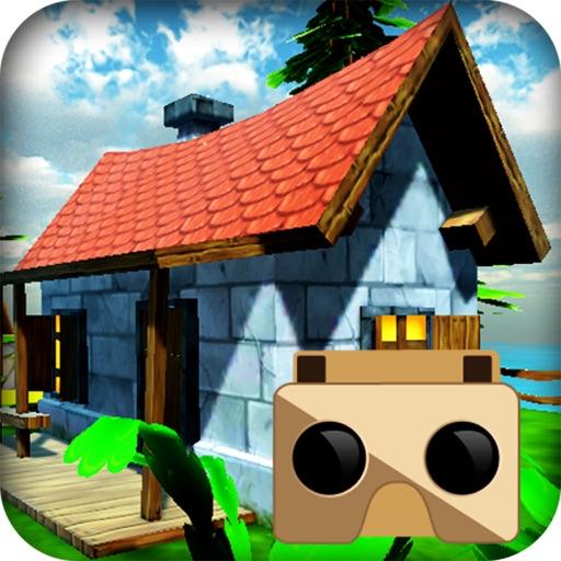VR Talking Cat & Dog Park: Real 3D Game