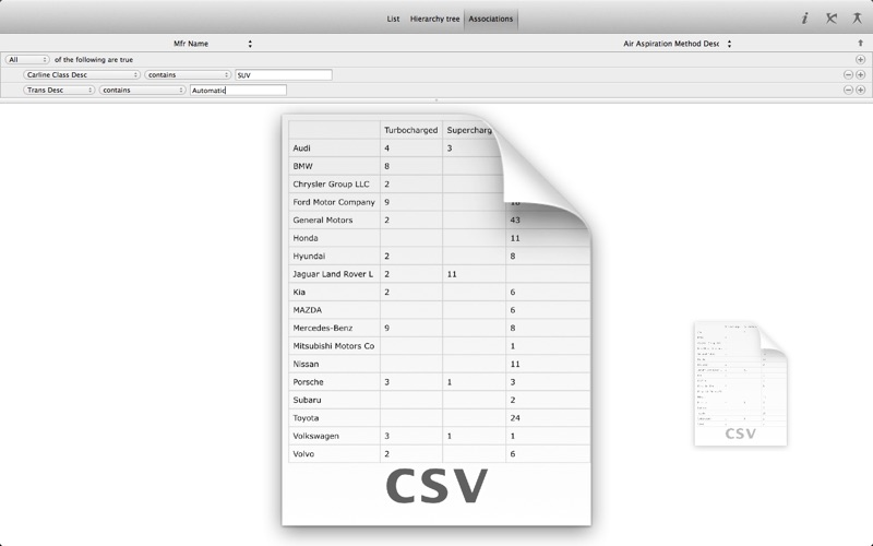 CSV Magic Screenshot
