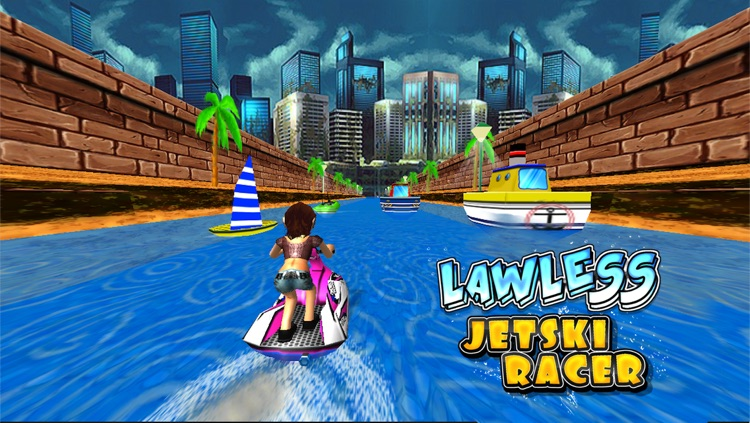 Lawless Jetski Racer (3d Stunt Race Games)