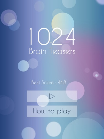 1024 Brain Teasers - Cool block puzzle game-ipad-1