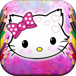 Kitty Coloring Funny