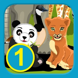 I See Animals at the Zoo - Level 1(A) - Learn To Read Books