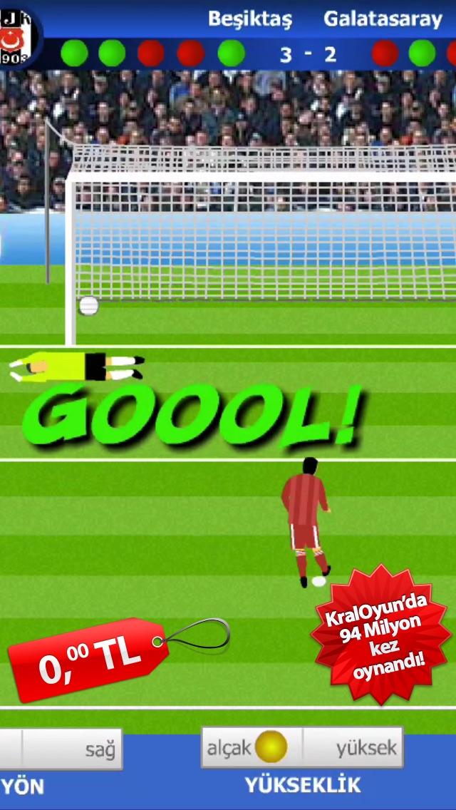 Kral Penaltı Futbol Oyunu 2014 Kraloyun Ile ücretsiz Erkek