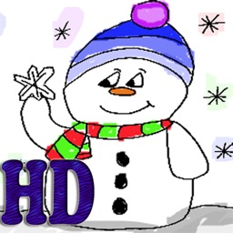 Kids Fingerpainting - Holiday HD