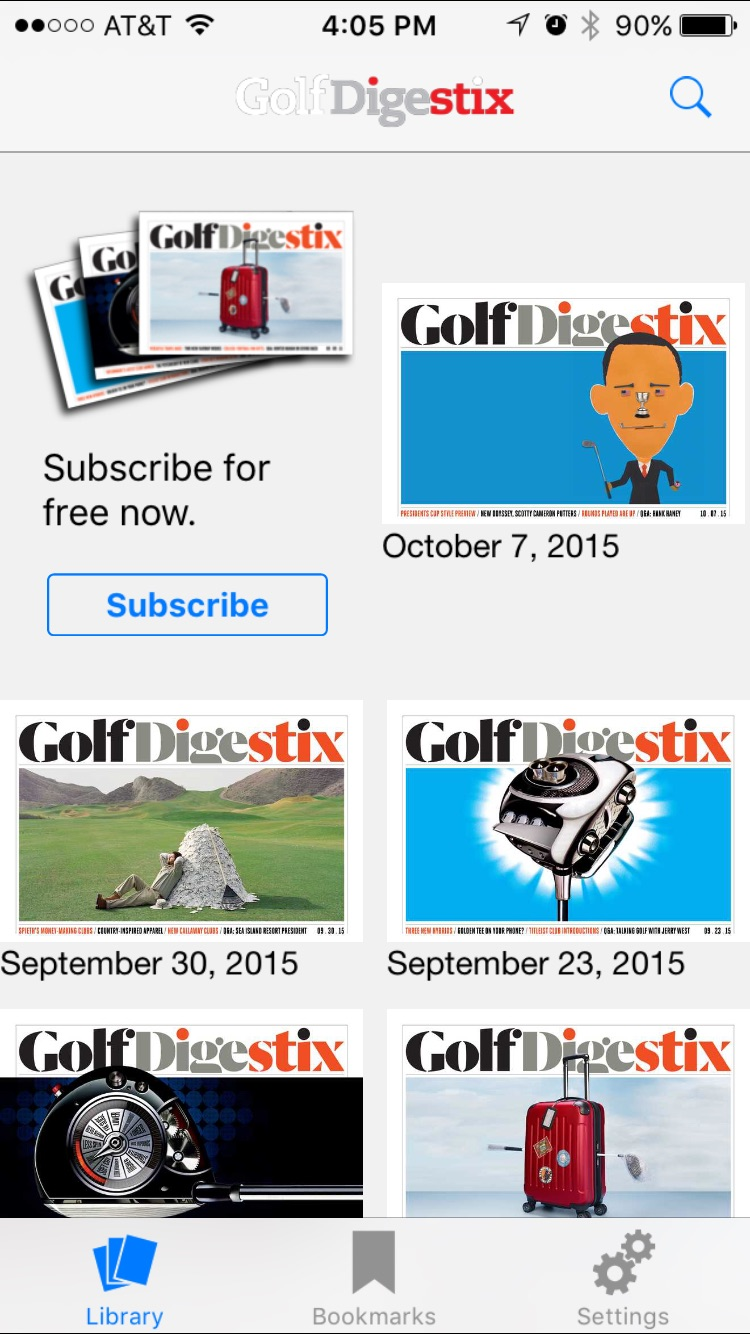 Golf Digest Stix Screenshot