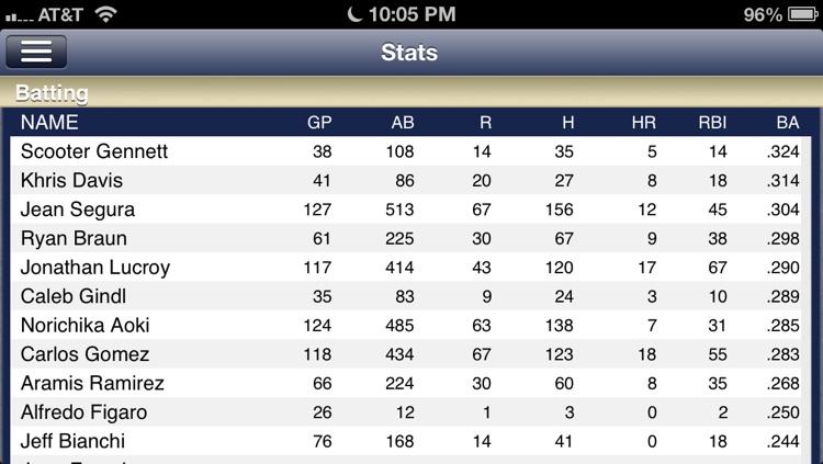 Milwaukee Baseball Live screenshot-4