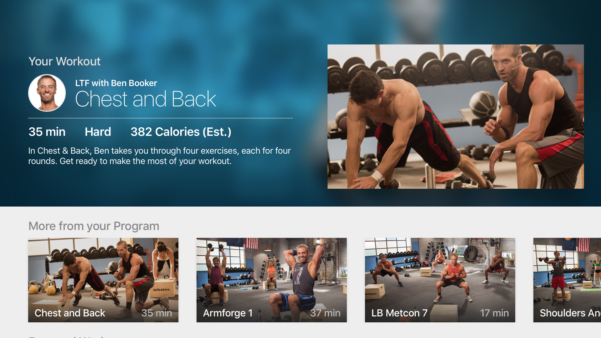 At Home Workouts by Daily Burn screenshot 11