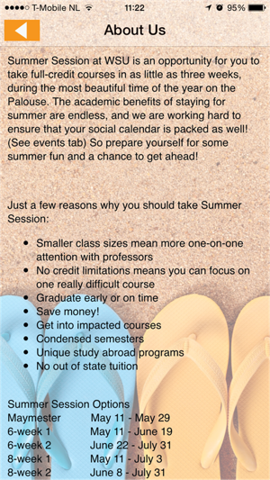 WSU Summer Session on the App Store