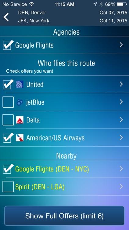 Denver Airport (DEN) Flight Tracker radar screenshot-3