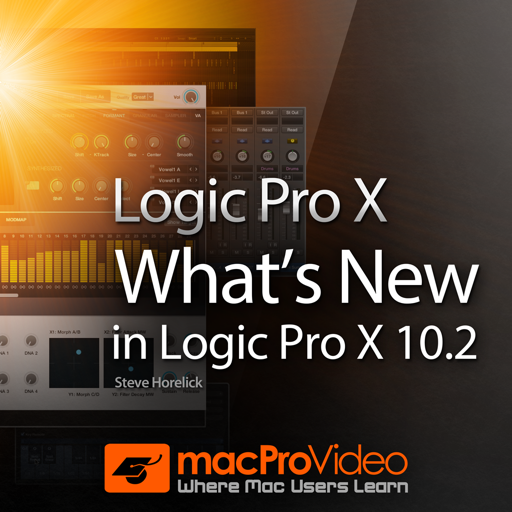 Course For What's New In Logic Pro X 10.2