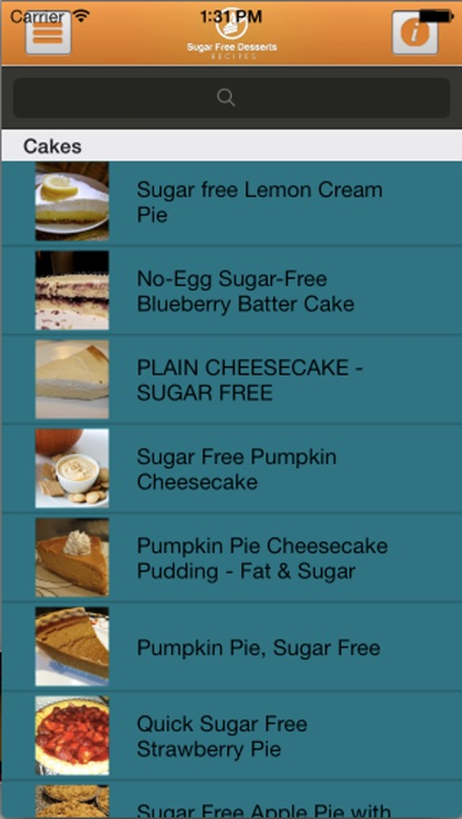 Sugar Free Desserts Recipes screenshot-4