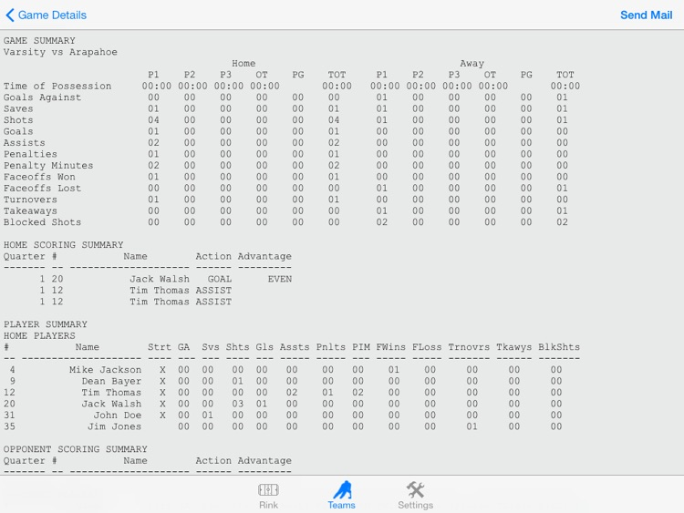HockeyGameTrack screenshot-4
