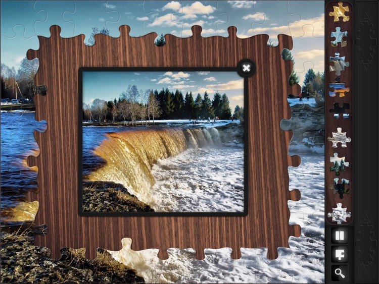 Jigsaw Puzzles: Waterfalls screenshot-4