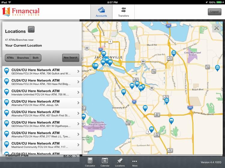 121 Financial Mobile Banking for iPad screenshot-4