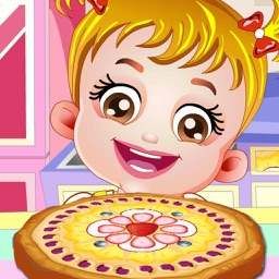 Baby Chef : Fruit Pizza Making & Decorate