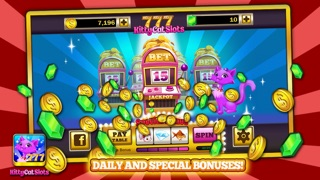 Kitty Cat Slots™ – FREE Premium Casino Slot Machine Game app image