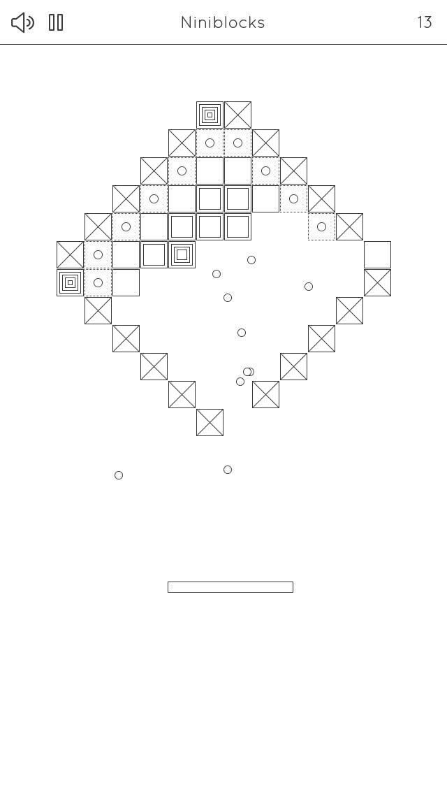 Niniblocks: シンプルなブロックくずしのスクリーンショット3