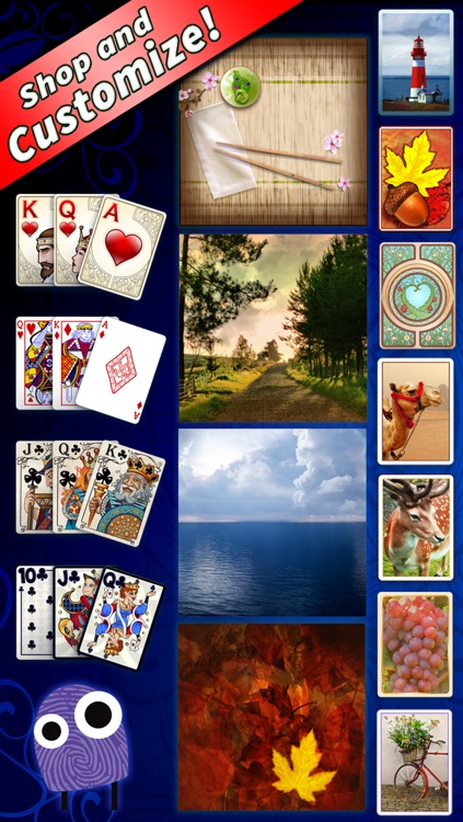 FreeCell Deluxe® Social – The Hit New Solitaire Game from Mobile Deluxe screenshot-3