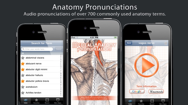 Anatomy Pronunciations on the App Store