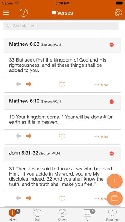 Bible Memory Verse: AbideInME screenshot-0