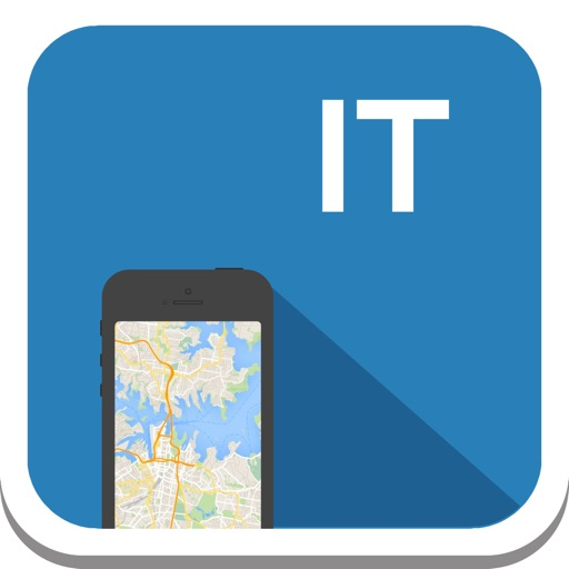 Italy (inc. Rome & Florence) offline map, guide, weather, hotels. Free GPS navigation.