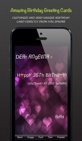 Birthday Sweet - 誕生日カレンダー/リマインダー ScreenShot2